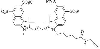 Sulfo-Cy3.5 alkyne