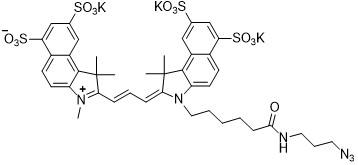 Sulfo-Cy3.5 azide