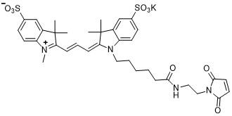 Sulfo-Cy3-maleimide