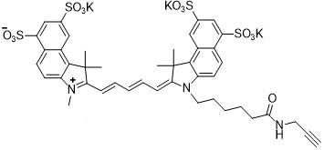 Sulfo-Cy5.5 alkyne