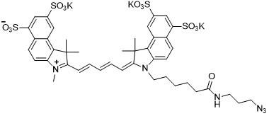 Sulfo-Cy5.5 azide