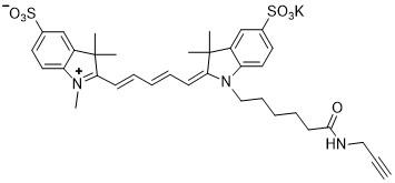 Sulfo-Cy5-alkyne